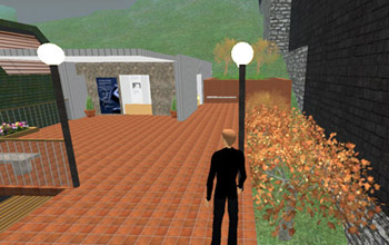 Second Life Tweed Museum of Art Student Gallery